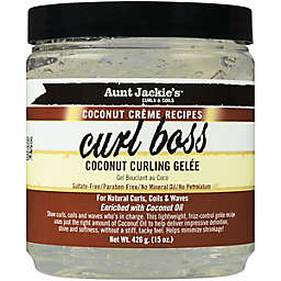 Aunt Jackie's™ 15 oz. Coconut Creme Recipes Curl Boss Coconut Curling Gelee