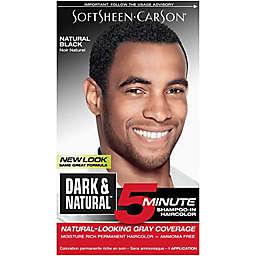 Dark and Natural™ 5 Minute Shampoo-In Haircolot in Natural Black