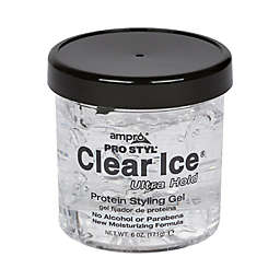 Ampro 6 oz. Clear Ice Ultra Hold Protein Styling Gel