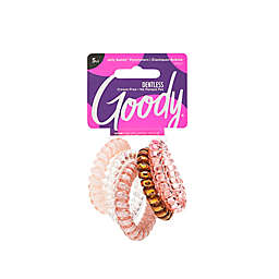 Goody® Jelly Bands® 5-Count Ponytailers in Blush Pink