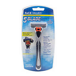 Harmon® Face Values™ 5 Blade Shaving System Razor with Pivoting Motion