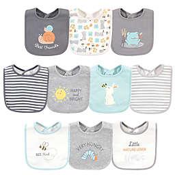 Hudson Baby® 10-Pack Best Friends Cotton Bibs