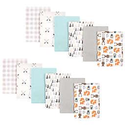 Hudson Baby® 12-Pack Neutral Flannel Burp Cloths