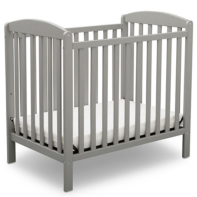 Alternate image 1 for Delta Children Sprout Mini Convertible Crib with Mattress