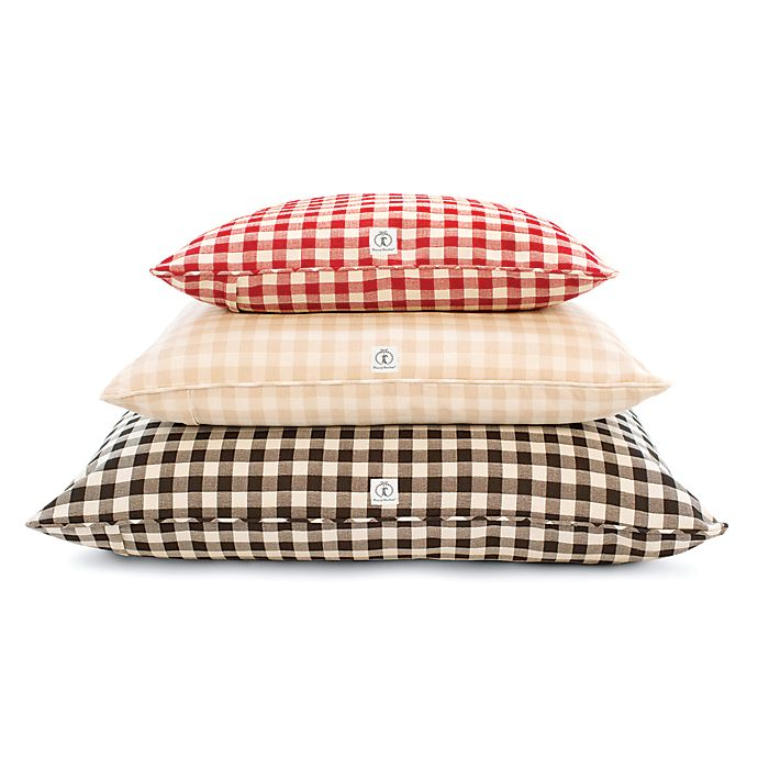 Alternate image 1 for Harry Barker® Buffalo Check Envelope Dog Bed