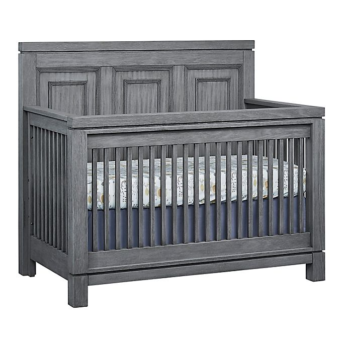 Alternate image 1 for Soho Baby Manchester 4-in-1 Convertible Crib in Rustic Grey