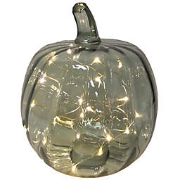 Bee & Willow™ 10-Inch Glass LED Pumpkin