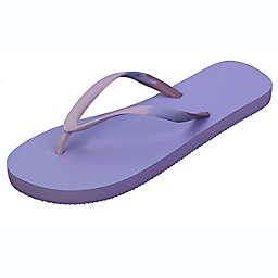 Wild Sage™ Onika Ombre Women's Medium Flip Flops in Wisteria