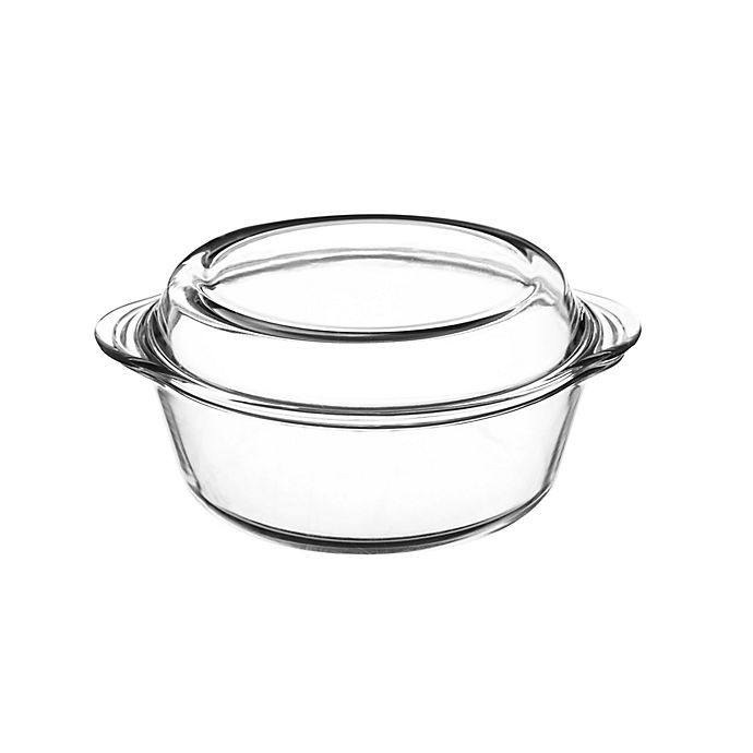 Alternate image 1 for Mason Cash® Classic Collection 0.9 qt. Clear Casserole Dish with Lid