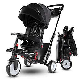 smarTrike® STR7 7-in-1 Folding Stroller Tricycle in Black