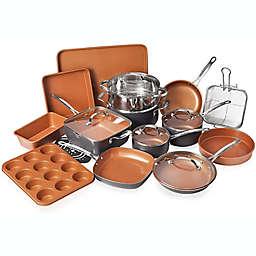 Gotham™ Nonstick Steel 20-Piece Cookware & Bakware Set