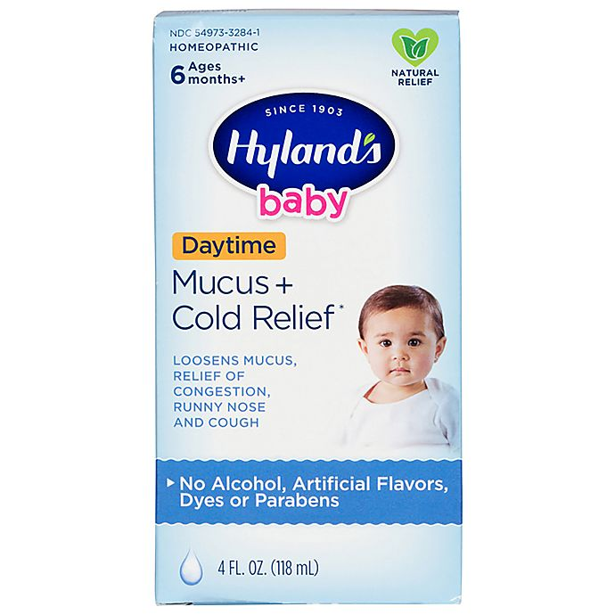 Alternate image 1 for Hyland's® 4 oz. Baby Mucus + Cold Relief