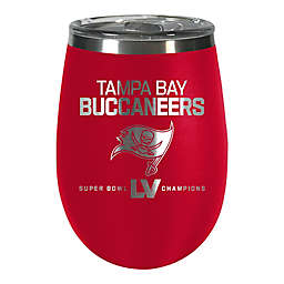 NFL Tampa Bay Buccaneers Super Bowl LV Champions 10 oz. Wine Tumbler