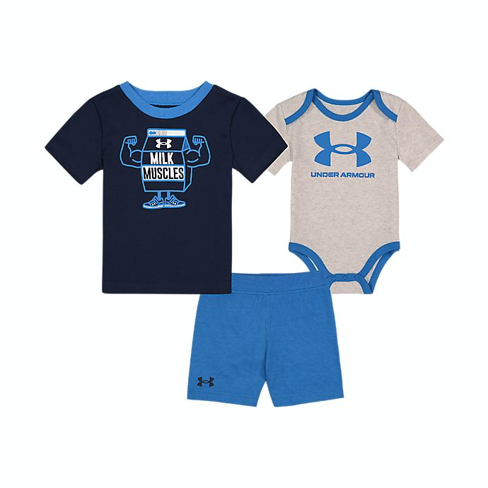 Alternate image 1 for Under Armour® 3-Piece Milk Muscles Set