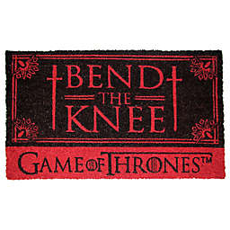 "Game of Thrones Bend the Knee 17"" x 29"" Coir Door Mat"