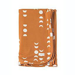 Loulou Lollipop Moon Stretch Knit Blanket in Brown