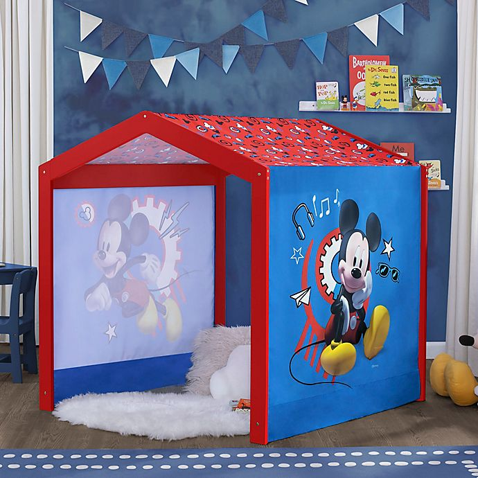 Alternate image 1 for Delta Children Disney® Mickey Mouse Indoor Tent Playhouse in Blue