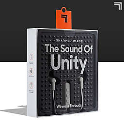 Sharper Image® The Sound Of Unity Wireless Earbuds in Grey