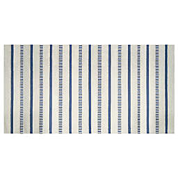 "Bee & Willow™ 24"" x 60"" Coastal Stripe Bath Runner in Blue"