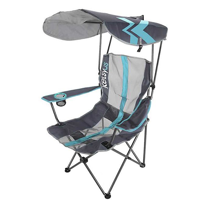 Alternate image 1 for Kelsyus Original Canopy Chair in Purist Blue