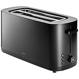 Zwilling® Enfinigy 2-Long Slot Toaster in Black