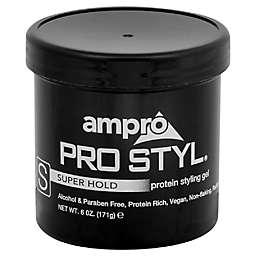Ampro 6 oz. Super Hold Protein Styling Gel