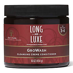 As I Am® Long and Luxe 16 oz. Cleansing Creme GroWash Conditioner