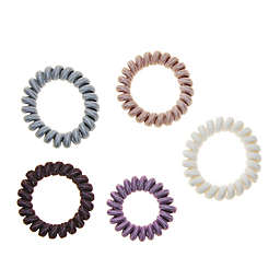 Riviera 5-Pack Large Fabric Hair Coils