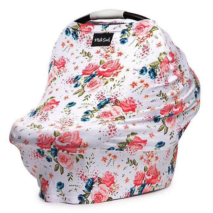 Alternate image 1 for Milk Snob® French Floral Multi-Use Car Seat Cover