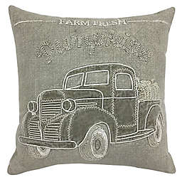 Bee & Willow™ Harvest Truck Square Throw Pillow in Neutral