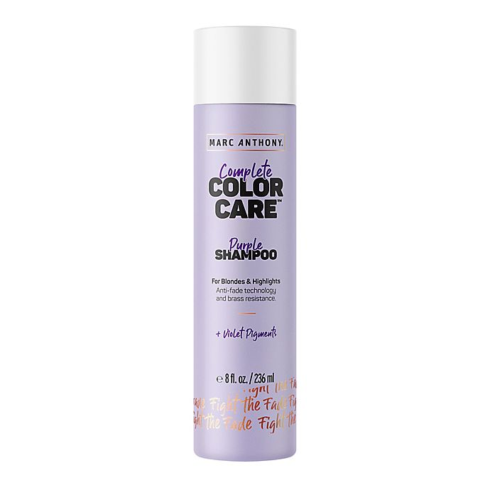 Alternate image 1 for Marc Anthony® Complete Color Care™ 8 oz. Purple Shampoo for Blondes