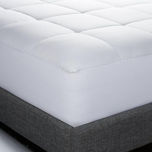 Alternate image 1 for Therapedic® Waterproof Cotton Queen Mattress Pad