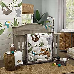NoJo® Jungle Gym 4-Piece Crib Bedding Set in Grey