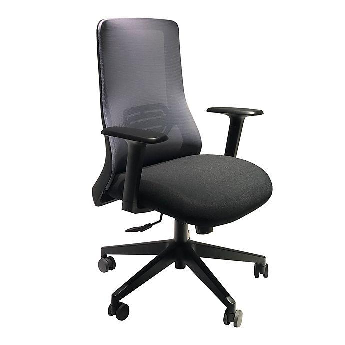 Alternate image 1 for The Urban Port Mesh Back Office Swivel Chair in Black/Gray