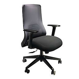 The Urban Port Mesh Back Office Swivel Chair in Black/Gray
