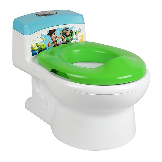 Alternate image 1 for The First Years™ Disney Pixar® Toy Story™ Potty and Trainer Seat in Green