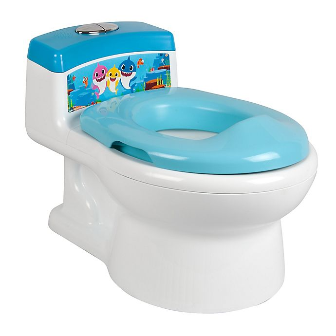 Alternate image 1 for The First Years™ Pinkfong™ Baby Shark Potty and Trainer Seat in Blue