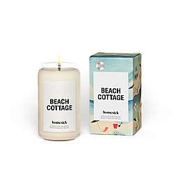 Homesick Beach Cottage Jar Candle