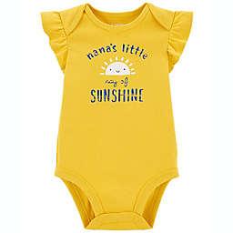 carter's® Nana's Sunshine Original Bodysuit in Mustard