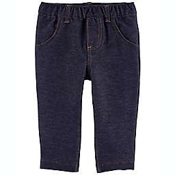 carter's® Pull-On Knit Denim Pants