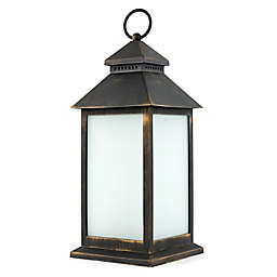 Sterling & Noble LED Lantern in Antique Bronze