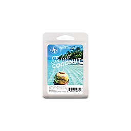AmbiEscents™ Tahiti Coconut 6-Pack Scented Wax Cubes in Blue