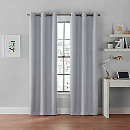 Brookstone® Galaxy 2-Pack 100% Blackout Grommet Window Curtain Panels