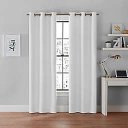 Brookstone® Galaxy 84-Inch 2-Pack 100% Blackout Grommet Window Curtain Panels in White
