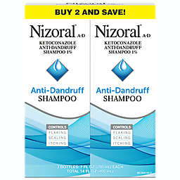 Nizoral 2-Pack 7 oz. Anti-Dandruff Shampoo