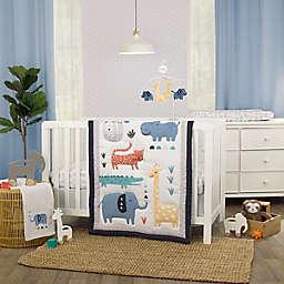 carter's® Modern Jungle Pals 3-Piece Crib Bedding Set in Grey