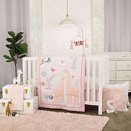 carter's® Pretty Giraffes 3-Piece Crib Bedding Set in Pink