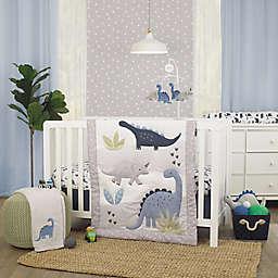 carter's® Dino Adventure 3-Piece Crib Bedding Set in Grey