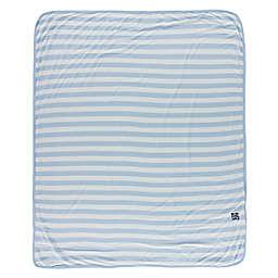 KicKee Pants® Stripe Stroller Blanket in Blue
