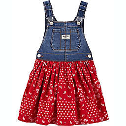 OshKosh B'gosh® Denim & Bandana Jumper in Blue/Red
